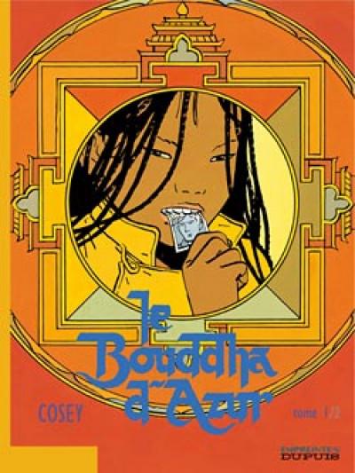 Couverture le bouddha d'azur tome 1