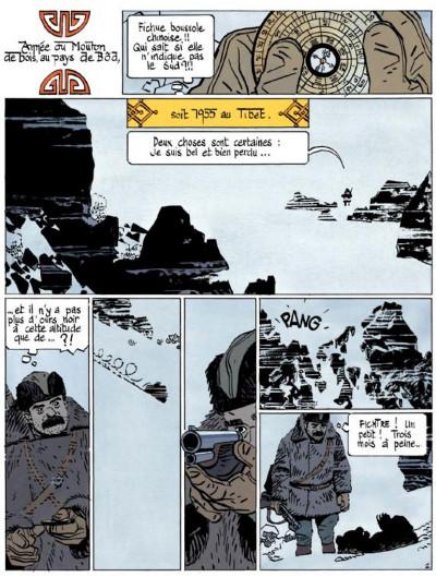 Page 2 le bouddha d'azur tome 1