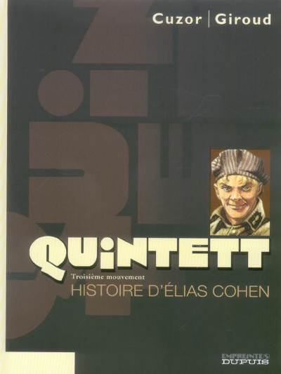 image de quintett tome 3 - histoire d'elias cohen