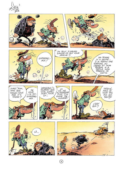 Page 3 pierre tombal tome 23 - regrets éternels