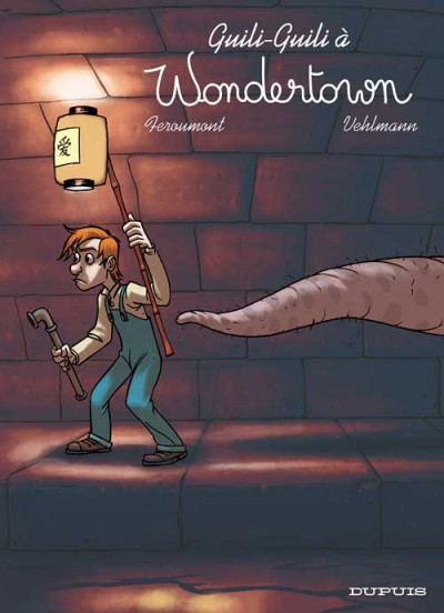 Couverture wondertown tome 2 - guili-guili à wondertown