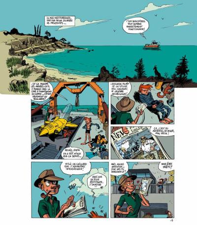 Page 1 spirou et fantasio  tome 1 - les géants pétrifiés