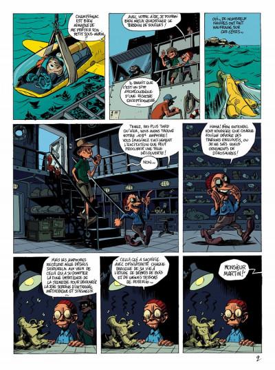Page 2 spirou et fantasio  tome 1 - les géants pétrifiés