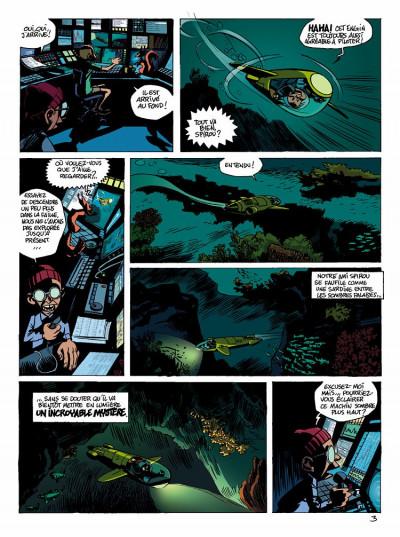 Page 3 spirou et fantasio  tome 1 - les géants pétrifiés