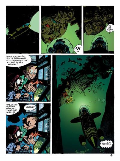 Page 4 spirou et fantasio  tome 1 - les géants pétrifiés