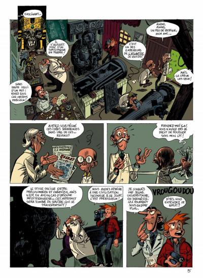 Page 5 spirou et fantasio  tome 1 - les géants pétrifiés