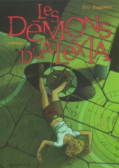 Couverture les démons d'alexia tome 3 - yorthopia