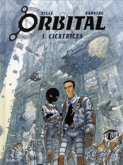 Couverture orbital tome 1 - cicatrices