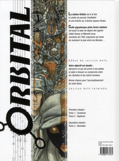 Dos orbital tome 1 - cicatrices