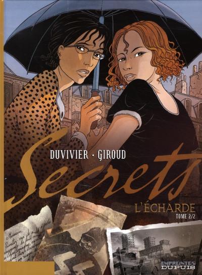 Couverture secrets, l'écharde tome 2