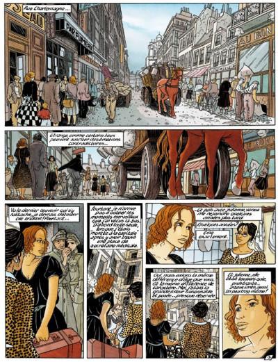 Page 1 secrets, l'écharde tome 2