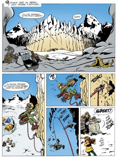 Page 1 spirou et fantasio  tome 3 - le tombeau des champignac