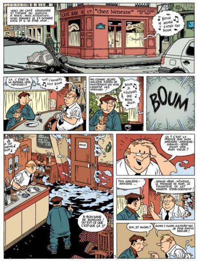 Page 1 spirou et fantasio  tome 2 - les marais du temps
