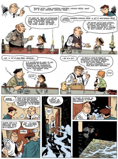 Page 2 spirou et fantasio  tome 2 - les marais du temps