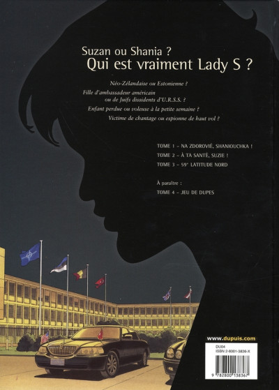 Dos lady s. tome 3 - 59° latitude nord