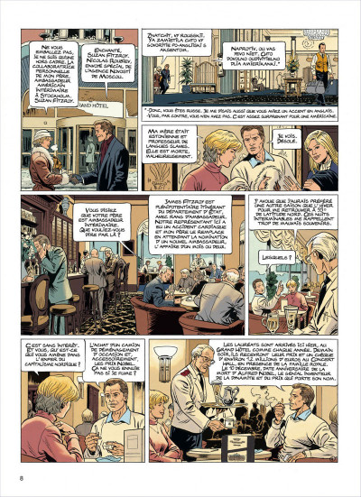 Page 8 lady s. tome 3 - 59° latitude nord