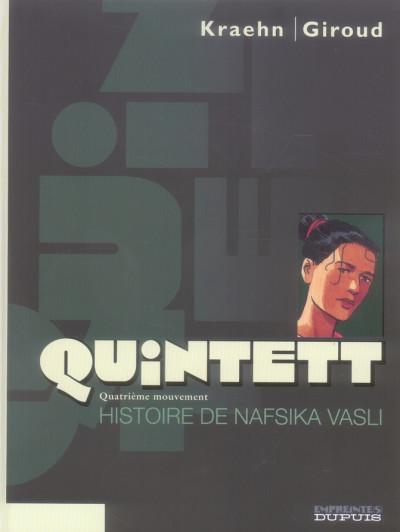image de quintett tome 4 - histoire de nafsika vasli