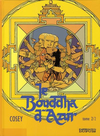 Couverture le bouddha d'azur tome 2