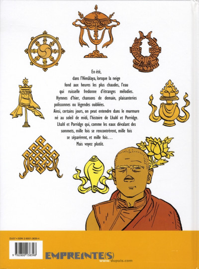 Dos le bouddha d'azur tome 2