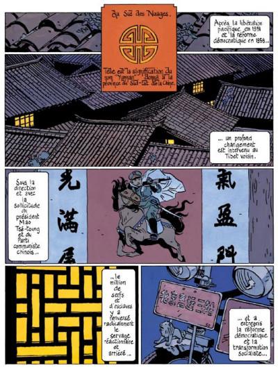 Page 1 le bouddha d'azur tome 2