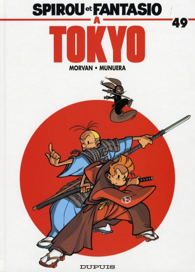 Couverture spirou et fantasio tome 49 - spirou et fantasio à tokyo