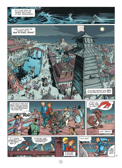 Page 3 spirou et fantasio tome 49 - spirou et fantasio à tokyo