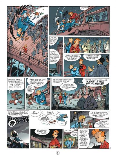 Page 5 spirou et fantasio tome 49 - spirou et fantasio à tokyo