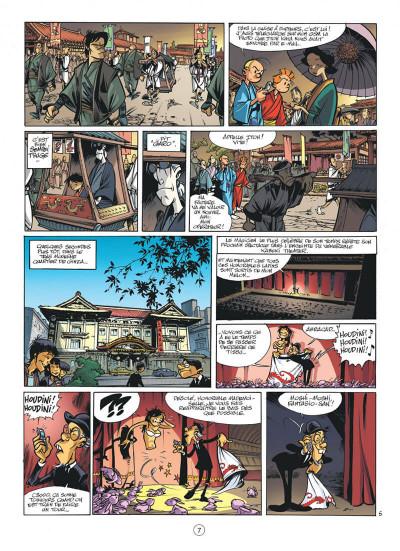 Page 7 spirou et fantasio tome 49 - spirou et fantasio à tokyo
