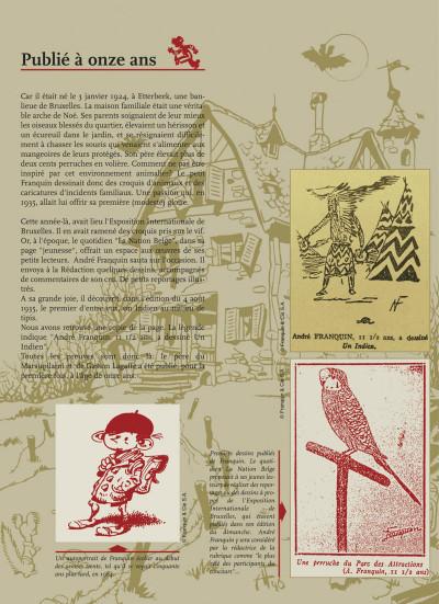 Page 5 spirou et fantasio - intégrale tome 1 - les débuts d'un dessinateur