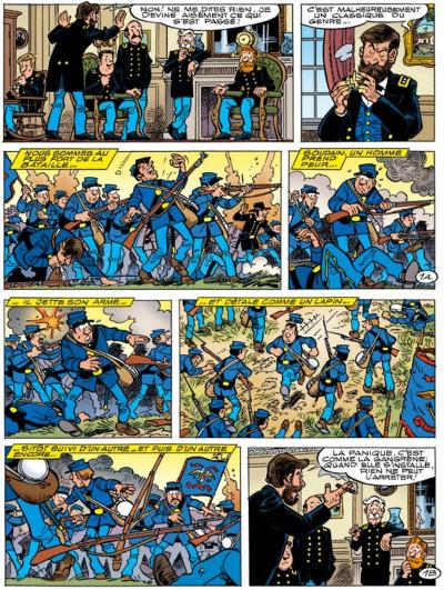 Page 1 les tuniques bleues tome 50 - la traque