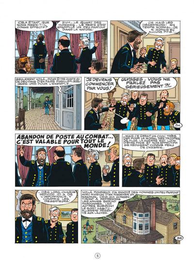 Page 5 les tuniques bleues tome 50 - la traque