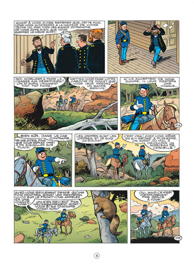 Page 6 les tuniques bleues tome 50 - la traque