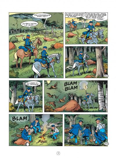 Page 7 les tuniques bleues tome 50 - la traque