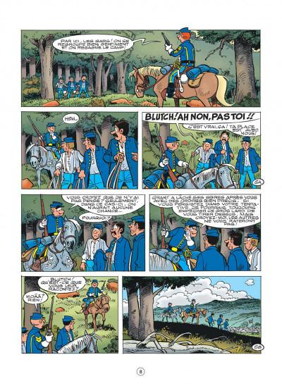 Page 8 les tuniques bleues tome 50 - la traque