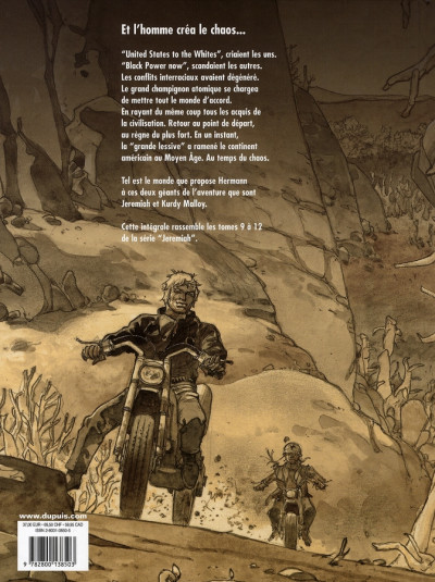 Dos jeremiah - intégrale tome 3 - tome 9 à tome 12
