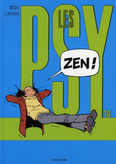 Couverture les psy tome 14 - Zen