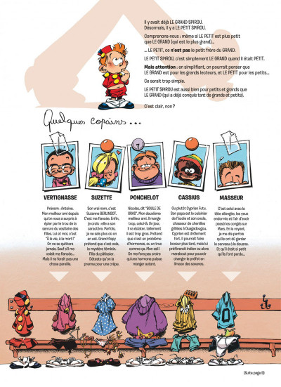 Page 2 le petit spirou tome 13 - fais de beaux rêves !