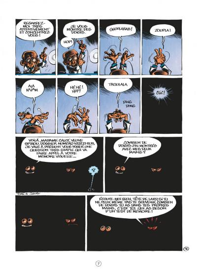 Page 7 le petit spirou tome 13 - fais de beaux rêves !