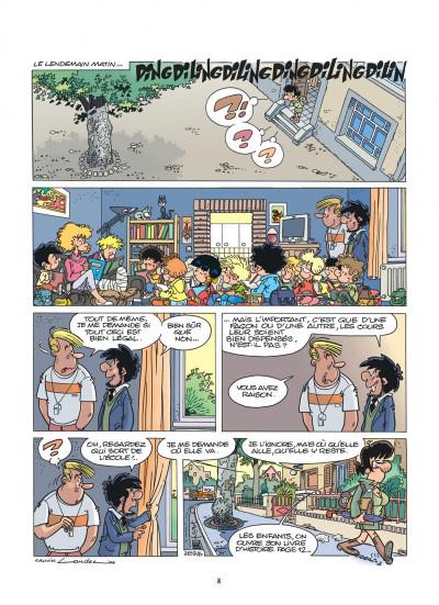 Page 8 cédric tome 21 - on rêvasse ?