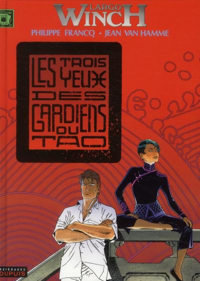 Couverture largo winch tome 15 - les trois yeux des gardiens du tao