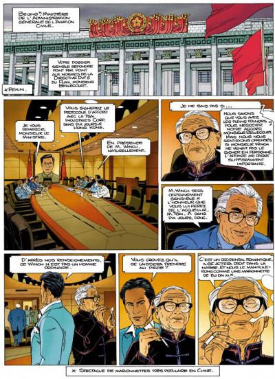 Page 1 largo winch tome 15 - les trois yeux des gardiens du tao