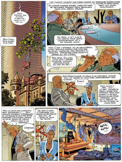 Page 2 largo winch tome 15 - les trois yeux des gardiens du tao