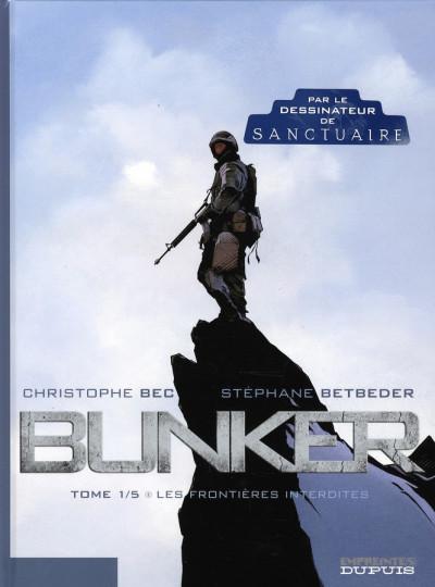 image de bunker tome 1 - les frontières interdites