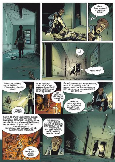 Page 2 les démons d'alexia tome 4 - le syndrome de salem