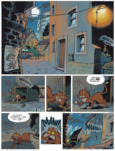 Page 1 billy the cat tome 11 - le chaméléon