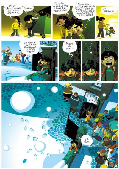 Page 4 le monde selon françois tome 1 - le secret des écrivains