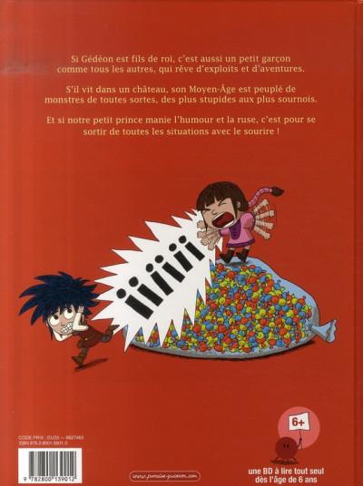 Dos prince gédéon tome 1 - trois chewing-gums pour sauver miléna
