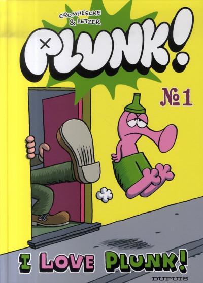 Couverture plunk tome 1 - i love plunk