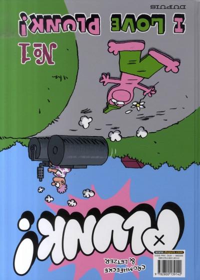 Dos plunk tome 1 - i love plunk