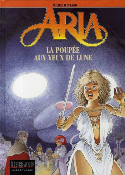 Couverture aria tome 29 - la poupée aux yeux de lune